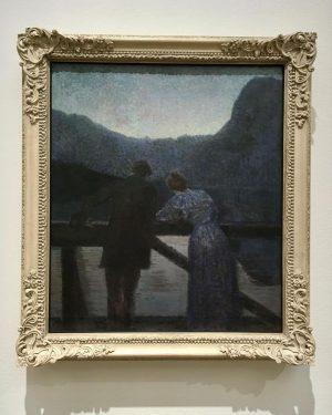 "Ernst Stöhr, ""Couple by the Lake"", 1897-1903. . . #art #arte #museum #museums ..."