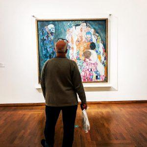 """""""Death and Life"""" Gustav Klimt Ten pan zdecydowanie dziś wybrał po jakiej stronie ..."""