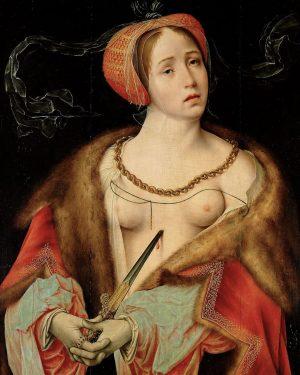 'The Death of Lucretia' By Joos van Cleve (1520-25) Kunsthistorisches Museum, Vienna @kunsthistorischesmuseumvienna ...