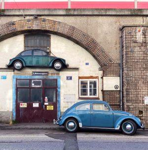 Double punch bug! . . . . . . . . #beetle #vw ...