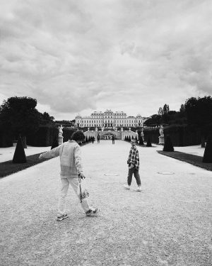 walks around vienna #travel #vienna #schlossbelvedere #qualitytime Vienna