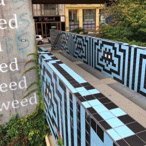Space Invaders Vienna 🙌🏻 #spaceinvaders #spaceinvader #vienna #wien #streetart #streetartvienna #streetartwien MQ – ...