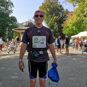 Tolle Stimmung beim Vienna Charity Run im Türkenschanzpark. Jede gelaufen Runde bringt Geld für das Kinderhospiz @sterntalerhof...