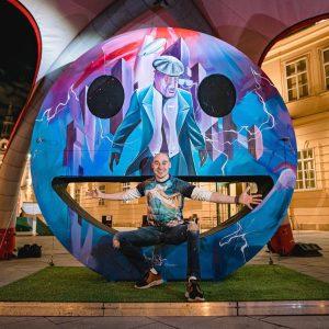 """Für das """"Grande Finale"""" in Wien hat @tomlohner mit einem Meisterwerk gesorgt! 🎉 ..."""