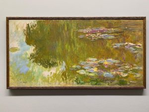 To stand in front of an original #ClaudeMonet is like an ethereal experience. ...