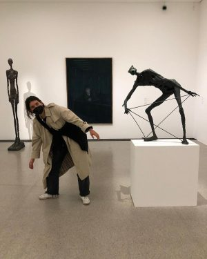 Verhalten im Museum hab ich verstanden. Einfach einblenden. mumok - Museum moderner Kunst ...