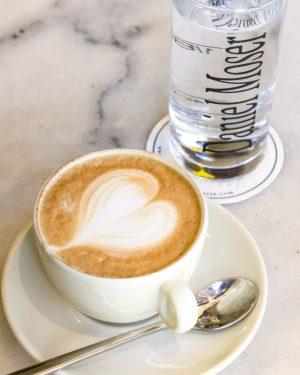 Rainy Day Coffee 🌧 with ❤️. . . #rainycoffeeday #cafedanielmoser #cafevienna #1010wien #kaffeeinvienna ...