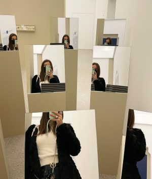 I have a problem with mirrors 🌙 #wien mumok - Museum moderner Kunst ...