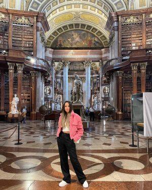 National Library. #vienna #austria #belvederepalace #travel #citybreak #palace #visitvienna #travelphotography #traveladdict #photooftheday #autumn ...