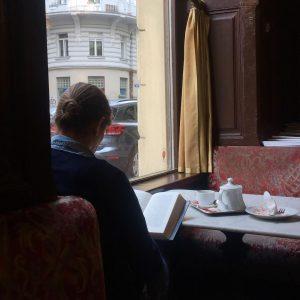 you get so alone at times it makes sense Café Sperl