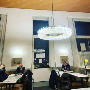 Abendessen und Frühstück im wunderbaren Café Prückel, ich hätte es so gerne in ...