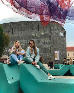 Hallo hallo, zove Vienna 💚💙 mumok - Museum moderner Kunst Wien